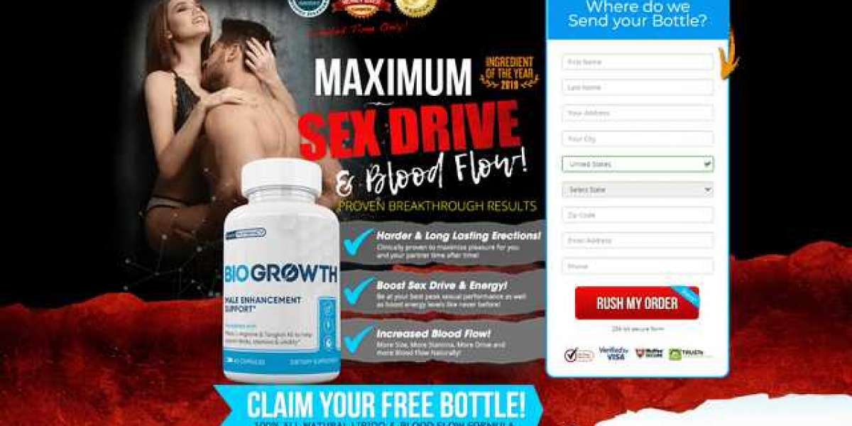 Biogrowth Male Enhancement - Get Risk Free Trial @ 100% Only here