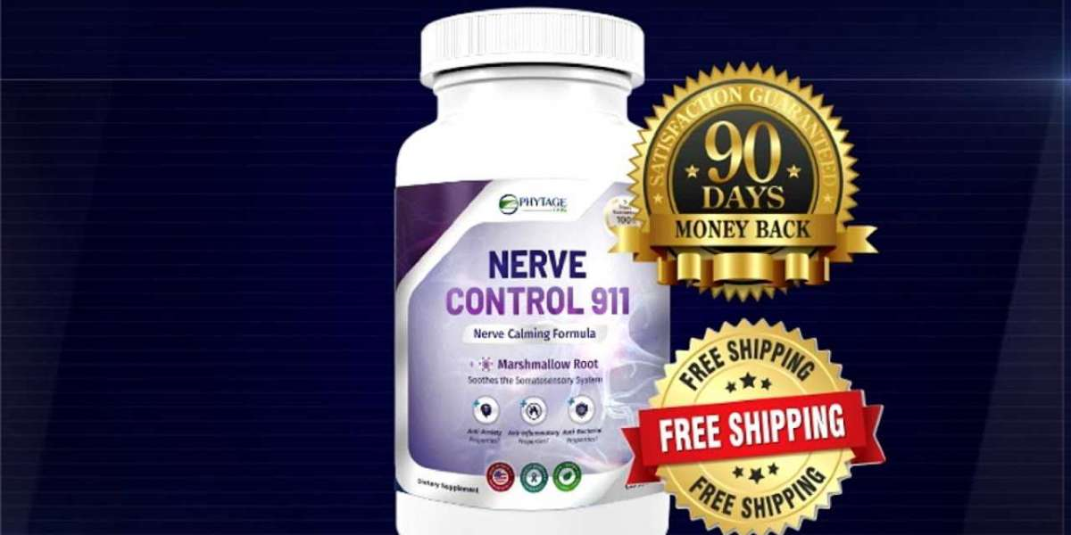 Tired of Your Nerve Pain? Order Nerve Control 911