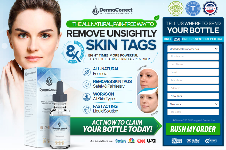 DermaCorrect Skin Canada: (2021) Reviews, Price, Ingredients & 7 Way To Remove Skin Tag, Benefits Of Derma Correct!