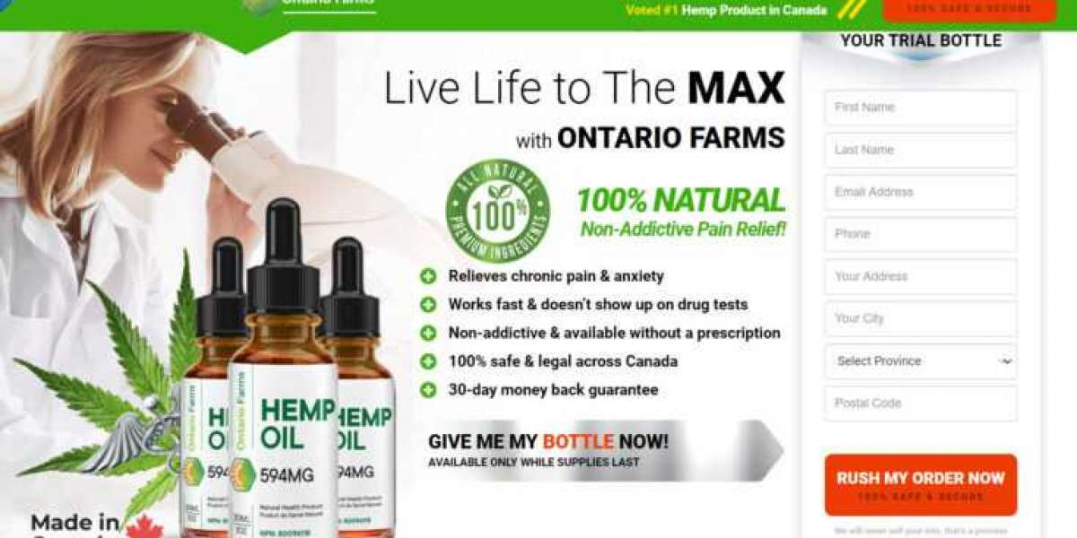 """IS Ontario Farms CBD Canada Scam?! Reason"""" Product, Best Deal, Read Benefits and Buy Now!"""