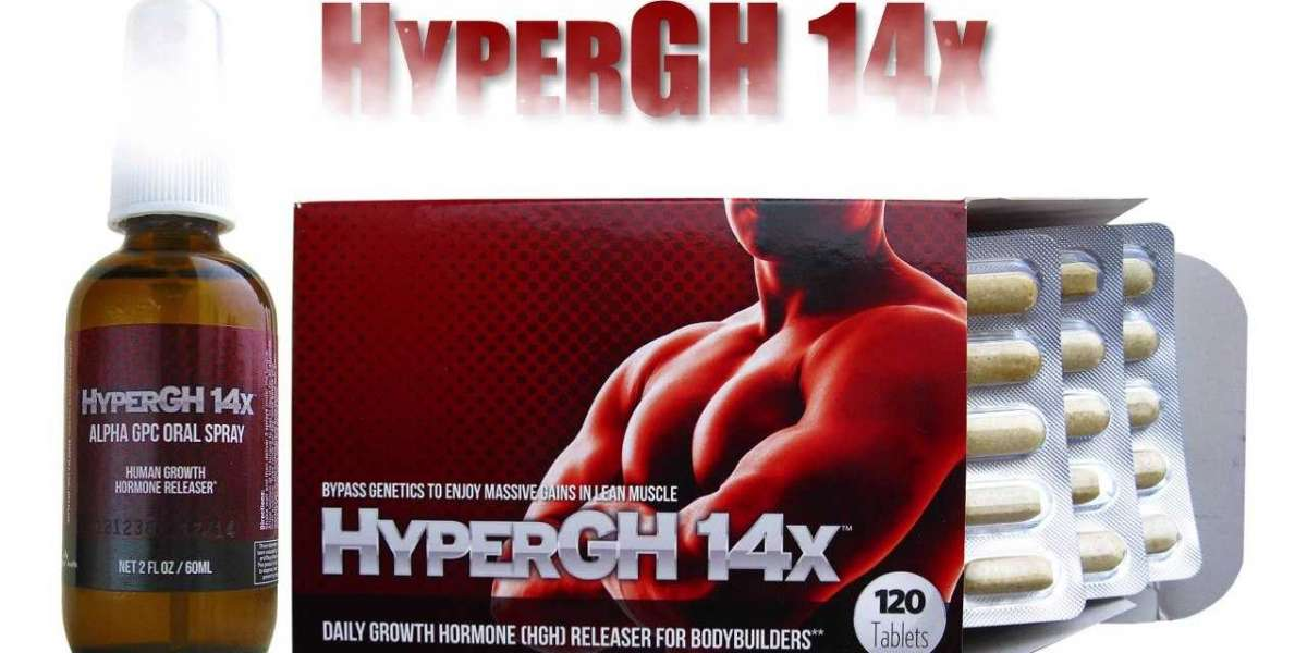 What are the HyperGH 14x Effective lean muscle builder?