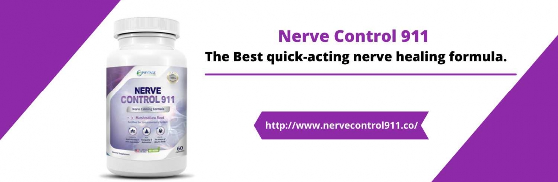 Nerve Control 911 Pills Cover Image