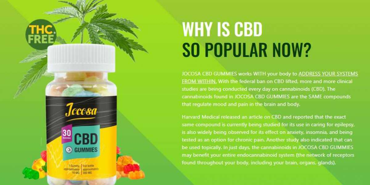 Jocosa CBD Oil (USA) Official Reviews – Is It Scam Or Work Actually?
