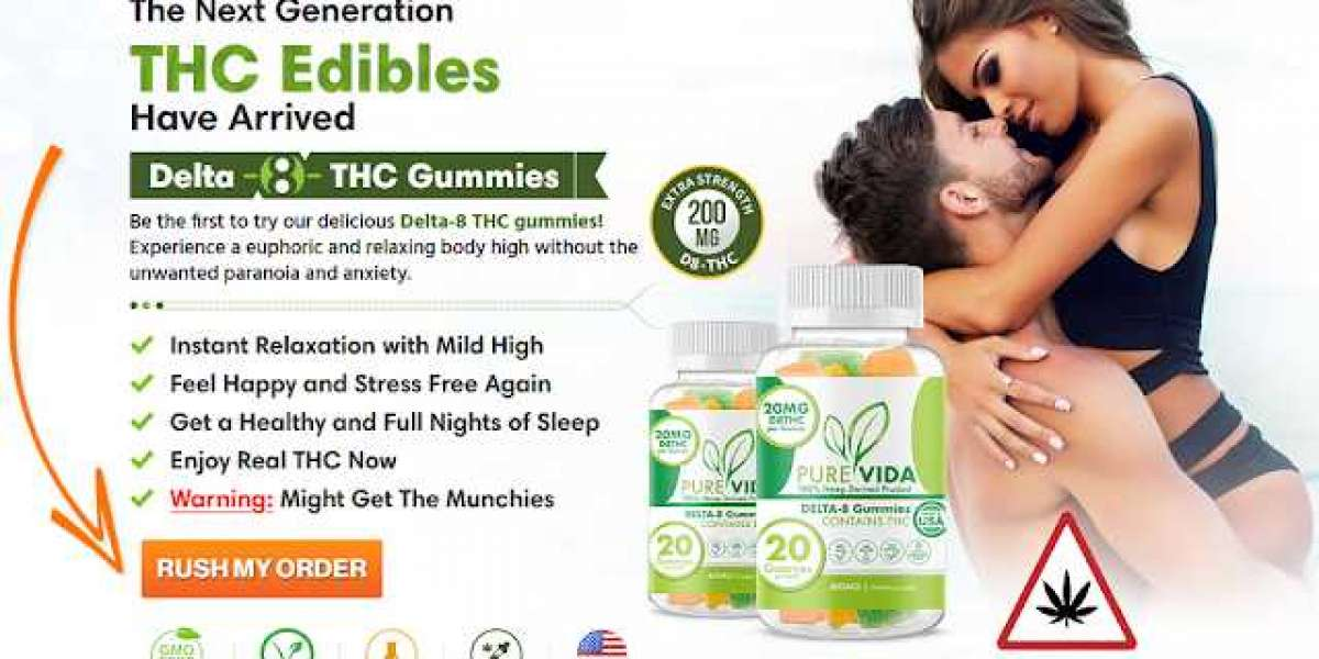 What Are The Benefits Of Pure Vita Delta-8 Gummies ?