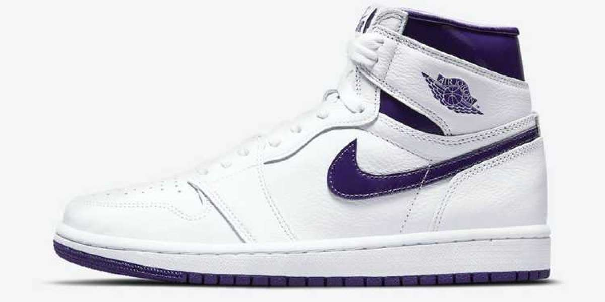 "Hot Sell Air Jordan 1 High OG WMNS ""Court Purple"" CD0461-151 Fast shipping"