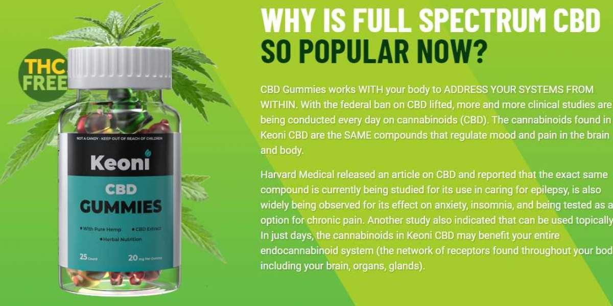 Keoni CBD Gummies Reviews : Reviews, Hemp Ex Gummies, Benefits, Price and Where To Buy!