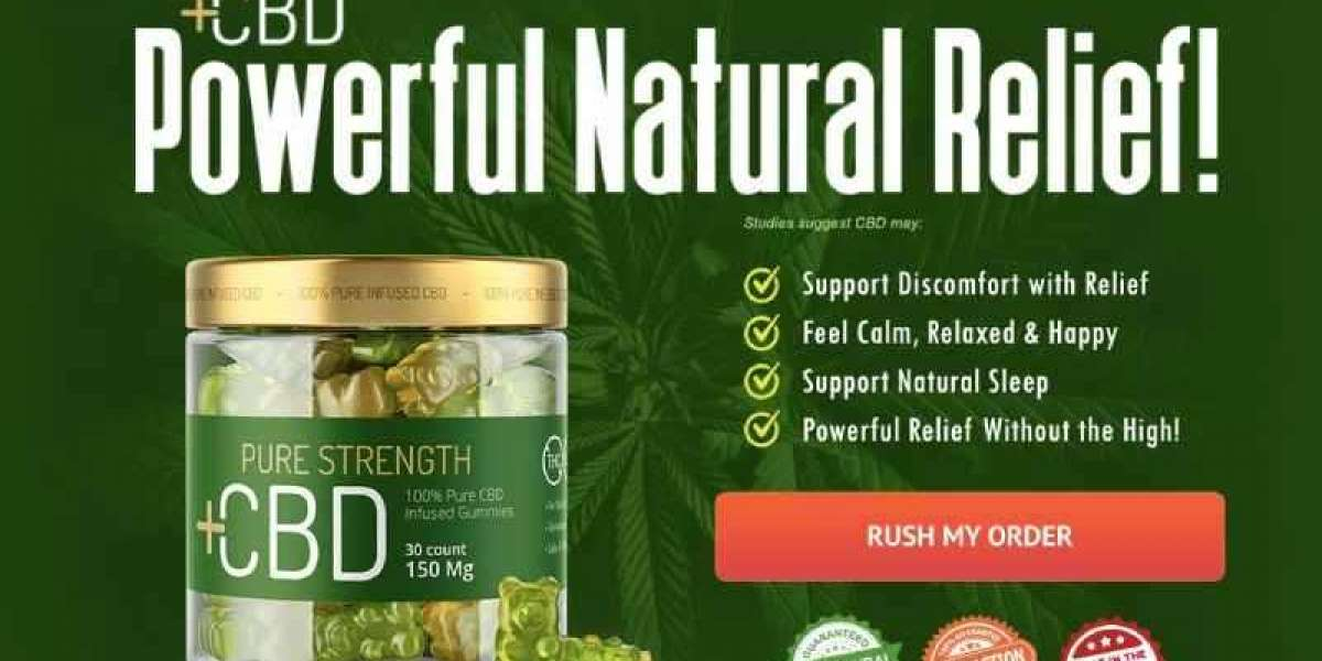 Pure Strength CBD Gummies Official Website: How Does It Really Exist And Work?