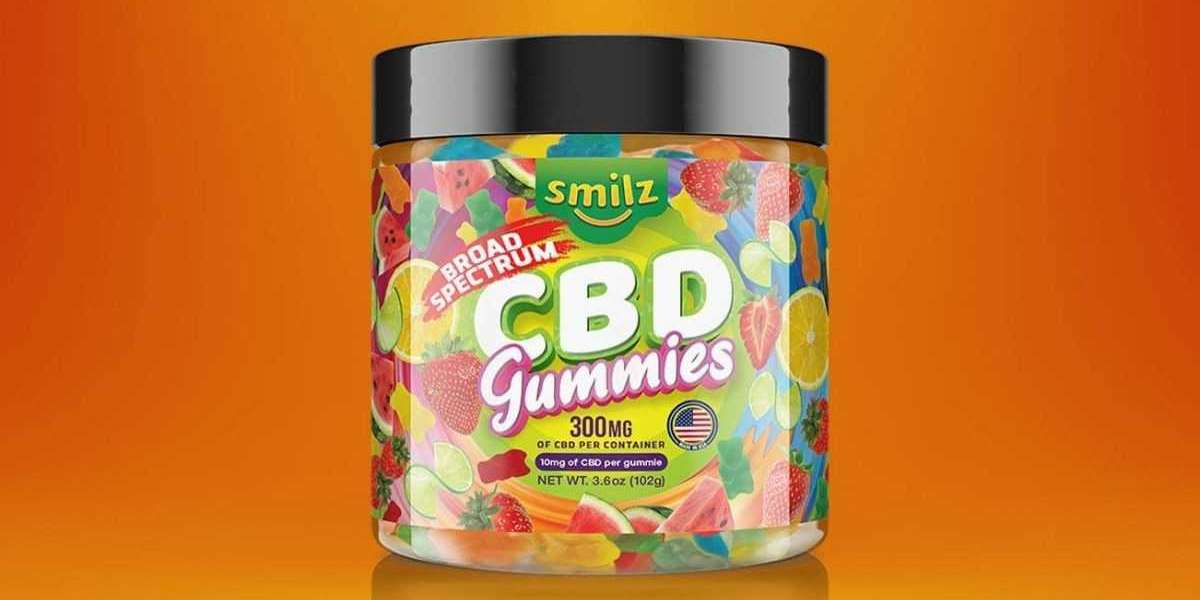 Smilz CBD Gummies Latest Report: Check Its Benefits And Advantages + Side-Effects?