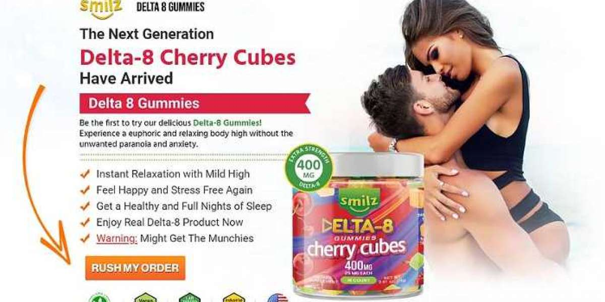 Smilz Delta-8 Gummies Cherry Cubes [Instant Relaxation]: Check Real Fact