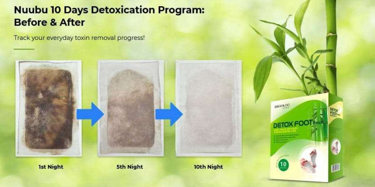 Nuubu Detox Patches - Foot Care and Pain Relief Patches
