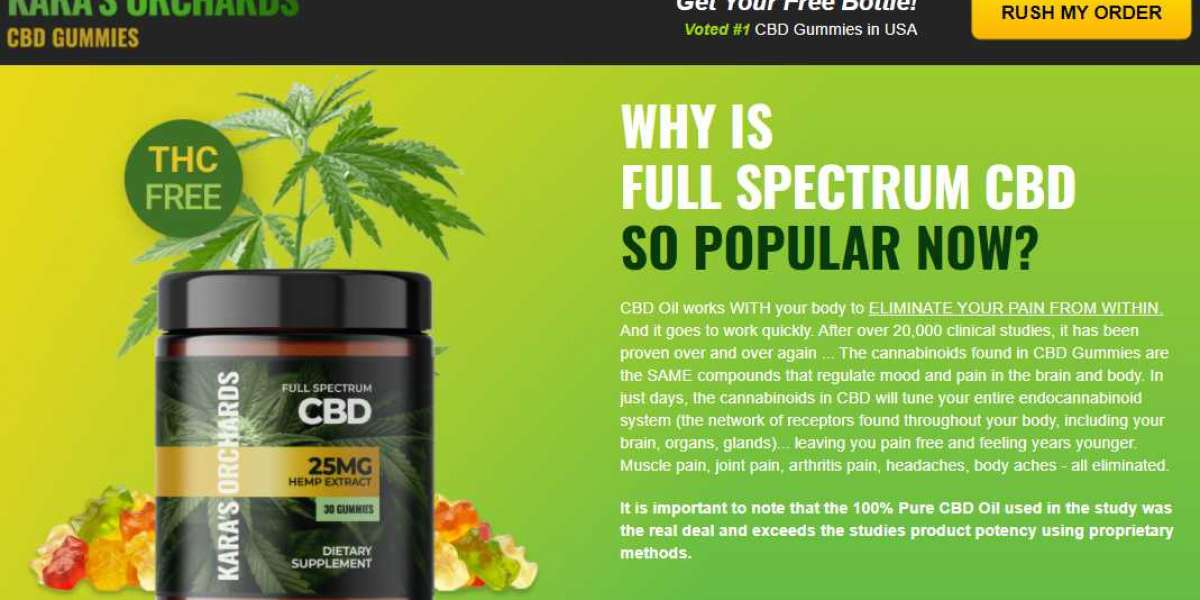 Kara's Orchards CBD Gummies UK : Effective And 100% Legal, Best Offers & Buy Here!
