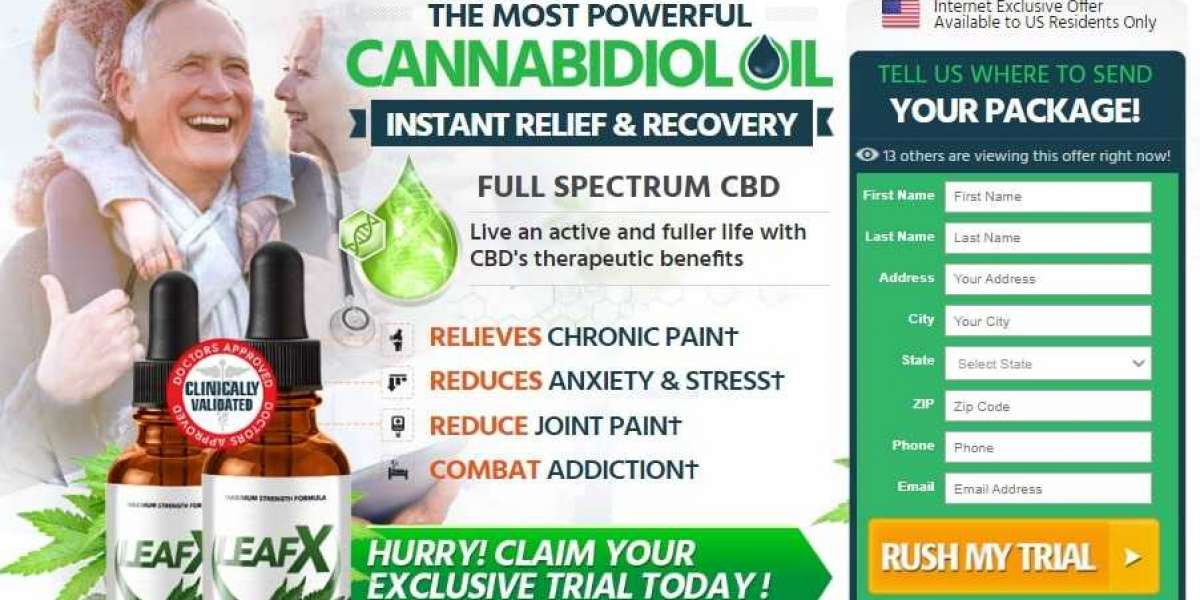 What Is LeafX CBD Oil - Is It 100% Natural And Safe To Use?