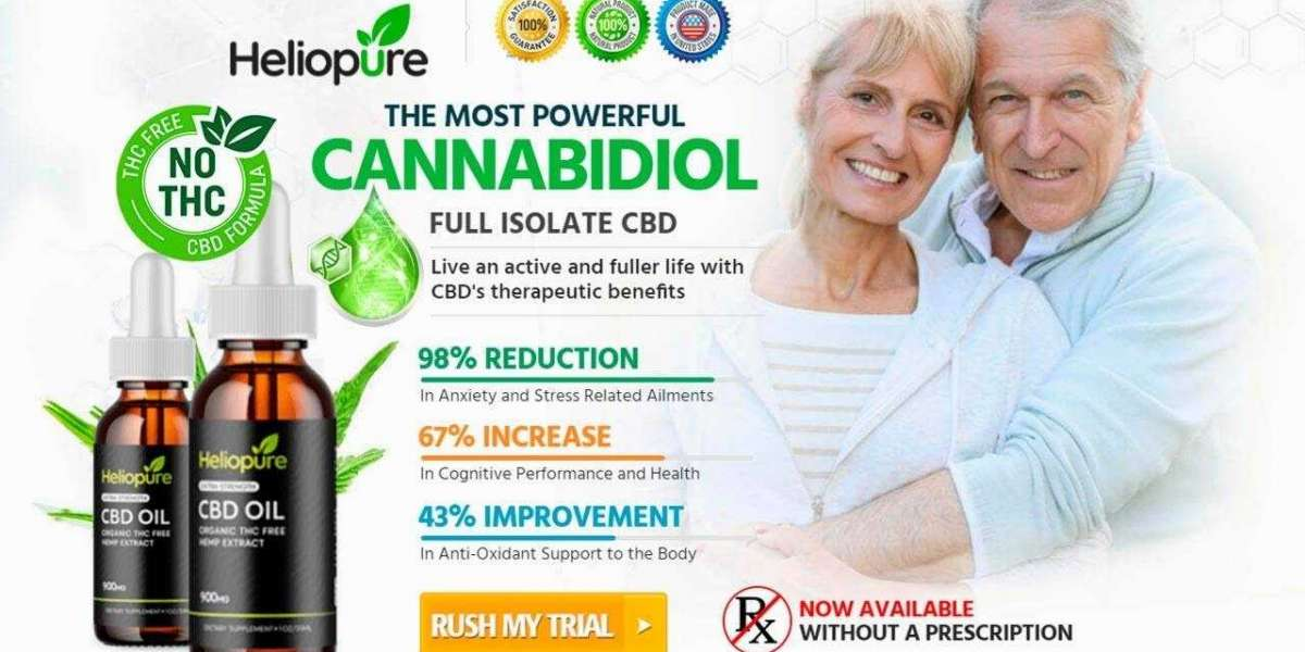 What Are The Active Ingredients Of HelioPure CBD Oil?