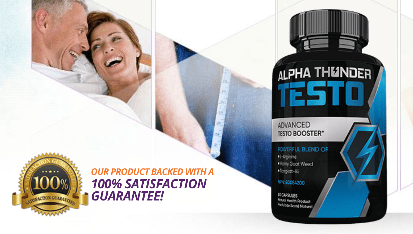 How Does Alpha Thunder Testo Help The Males?