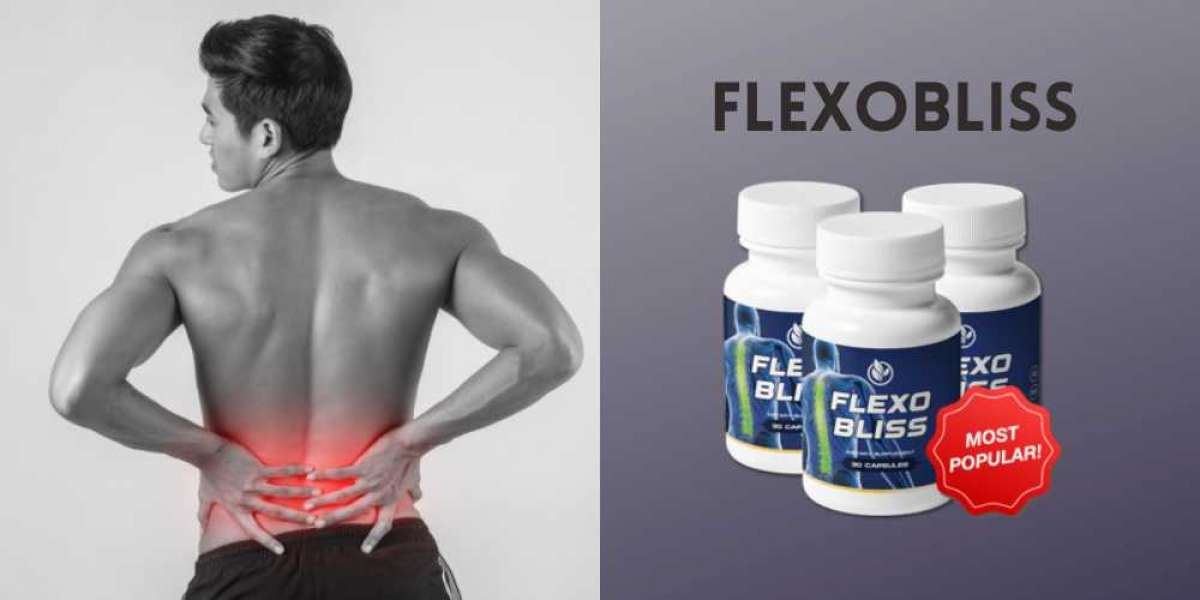 Flexobliss Pills for Strong And Healthy Back