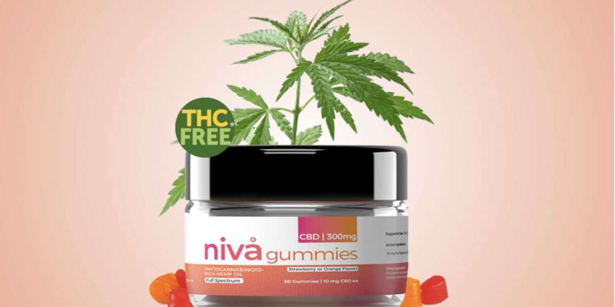 """Where To Buy"""" Niva CBD Gummies : 100% Secure, Safe Reviews, Trial, Price and Benefits!"""