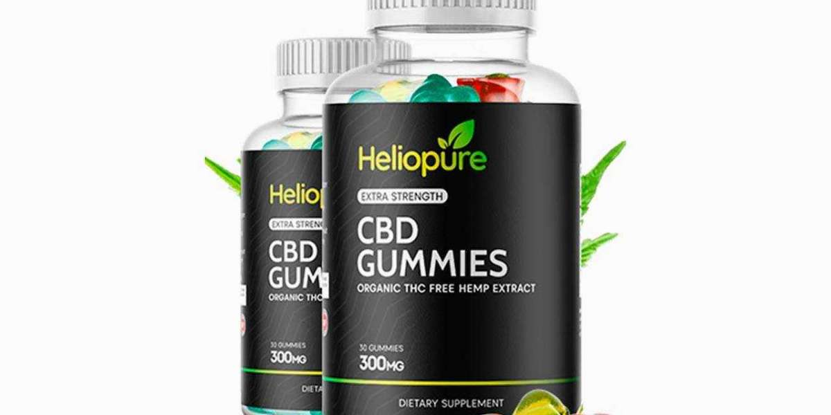 What Is The Composition Of Heliopure CBD Gummies?