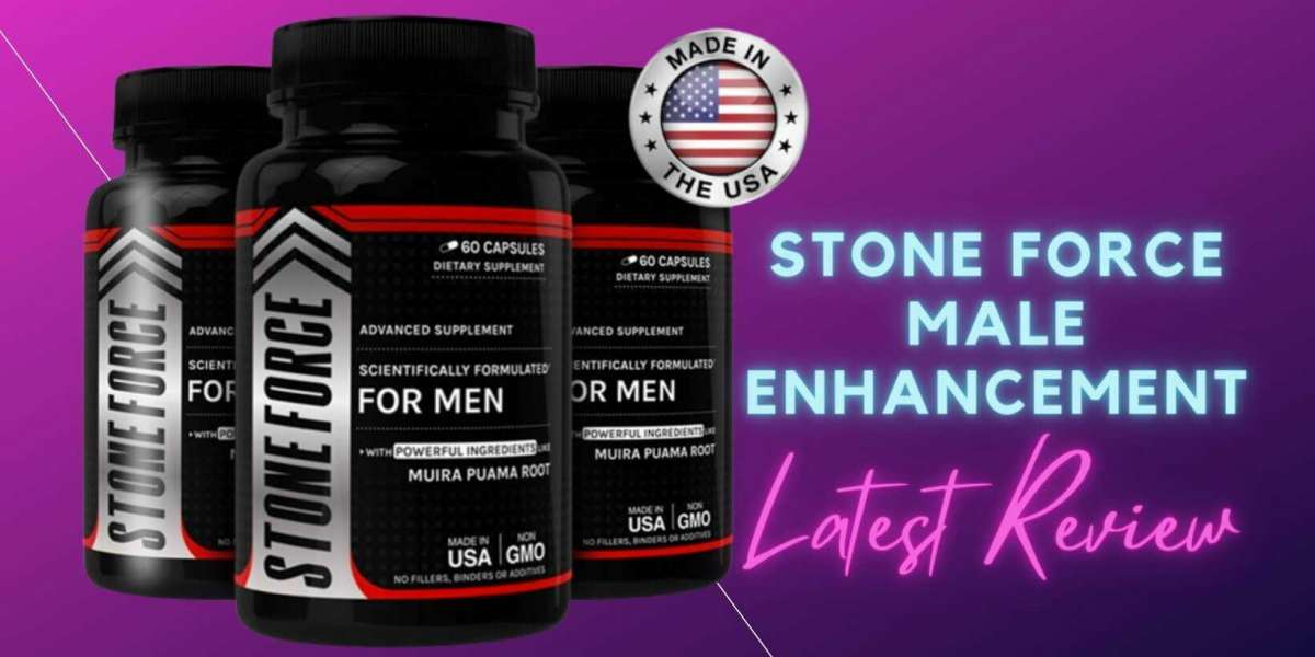 Try Stone Force Male Enhancement & Improve Sexual Performance