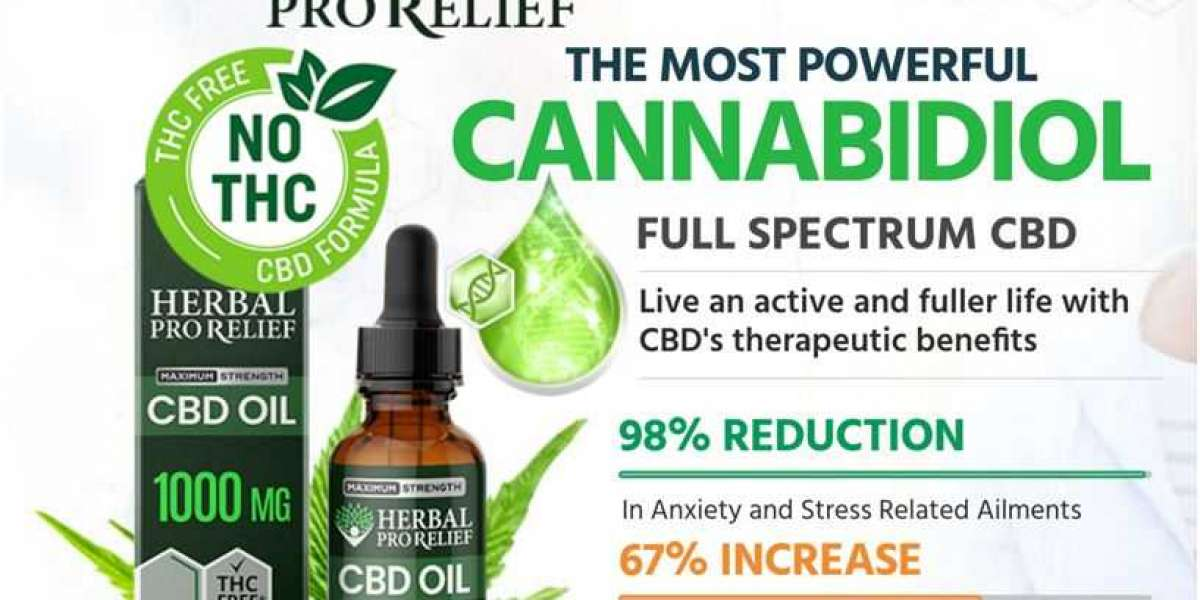 Herbal Pro Relief CBD Oil Reviews: Real Price for Sale !