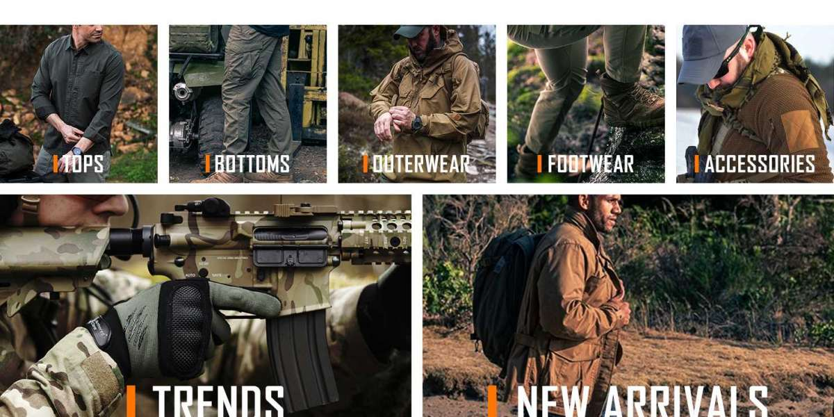 Men's Tactical, Outdoor, Casual Clothing and Accessories
