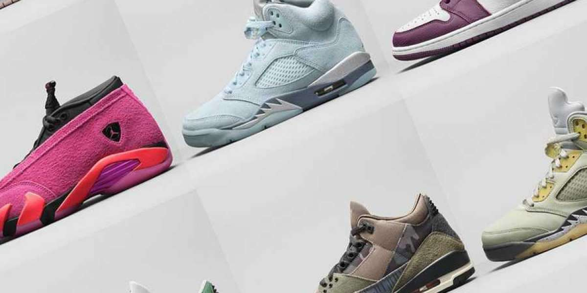 A variety of Nike Jordan shoes sold out!